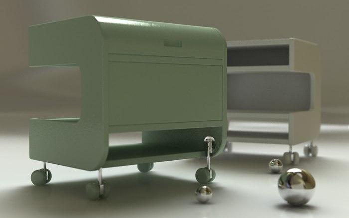 Test furniture 3D