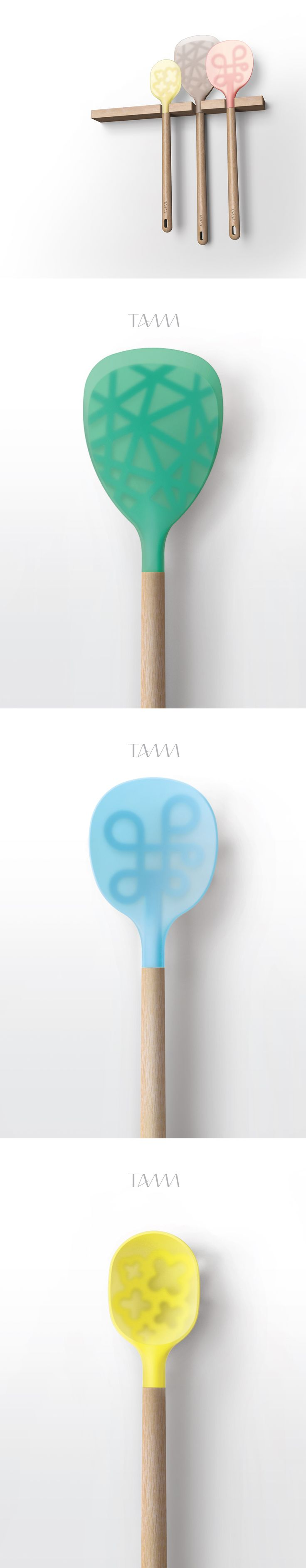 silicone kitchen tools design for 'TAMM'