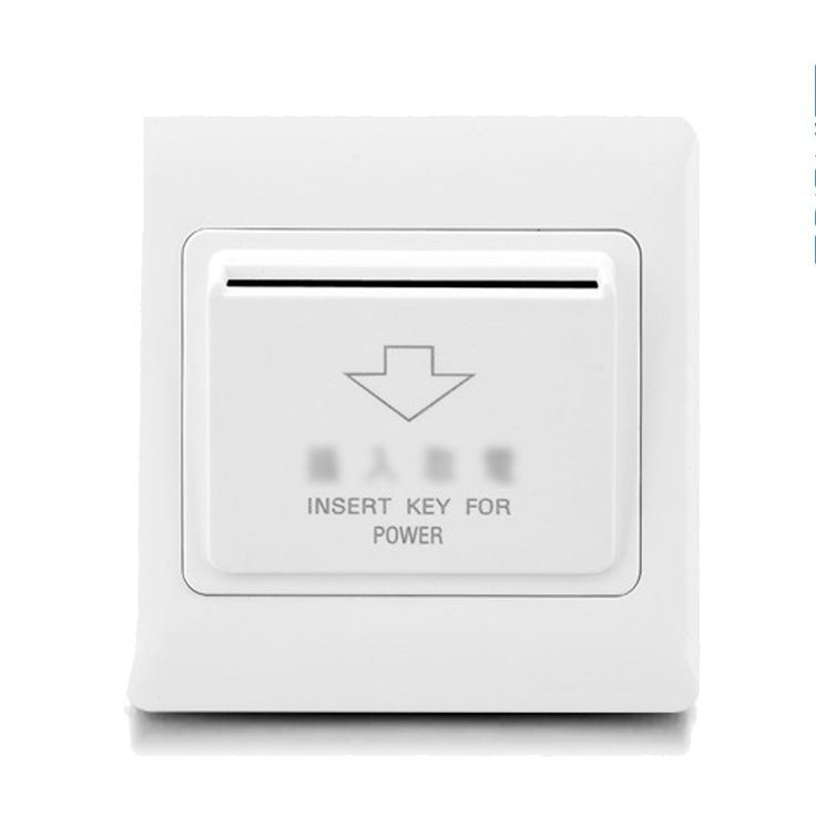 Card switch insert key power switch energy saving