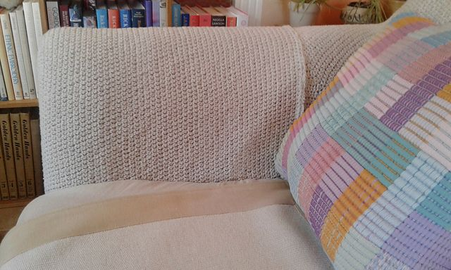 Ravelry: spinningdebs' String Crochet Sofa Cover