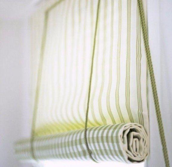 Как сделать рулонную штору.