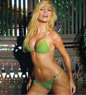 Naked in bikini selfpic consider