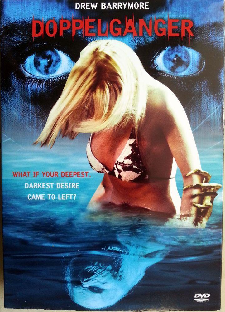 DOPPELGANGER Drew Barrymore, Danny Trejo, Leslie Hope, Horror Drama - R0 DVD