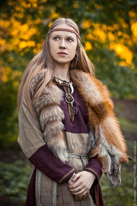 """Masha """"Scream"""", Arkona - a heavy metal band that does some really cool music, some of it is cultural and not as harsh as the other stuff, I love the music videos and seeing their clothing"""