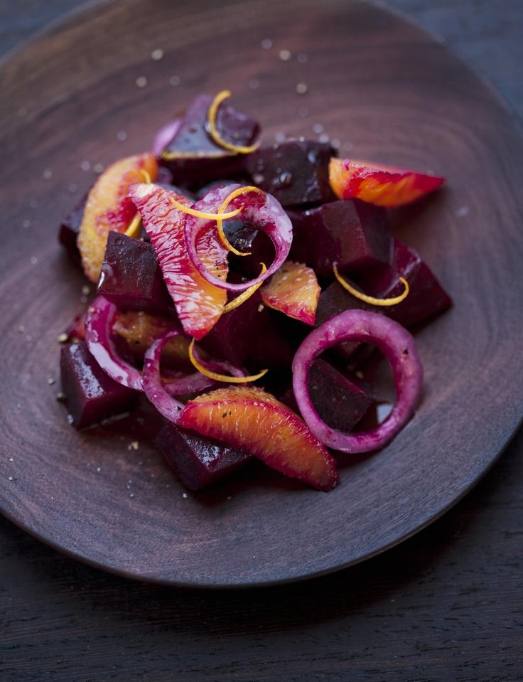Salade de betteraves aux agrumes |photo Jean Longpré