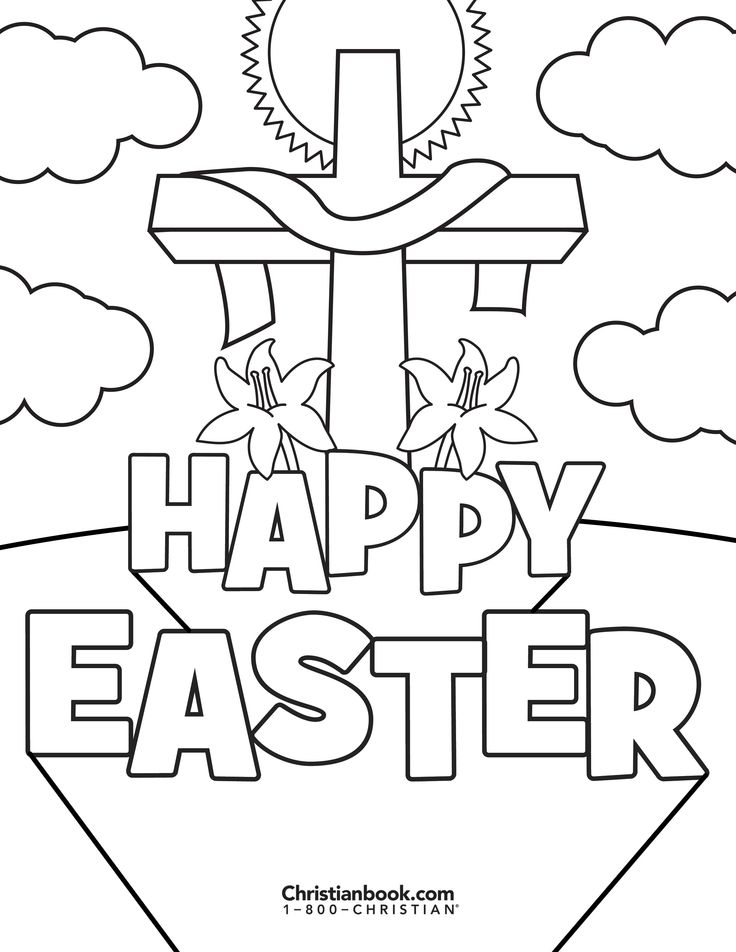 29+ Happy easter religious coloring pages trends