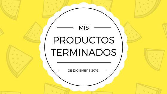 [Empties] Productos terminados en diciembre - The Queen Snow White
