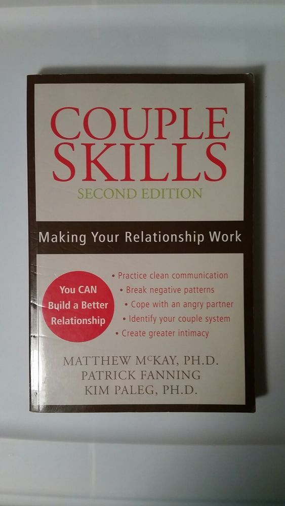 Couple Skills Making Your Relationship Work 2006 Paperback 2nd
