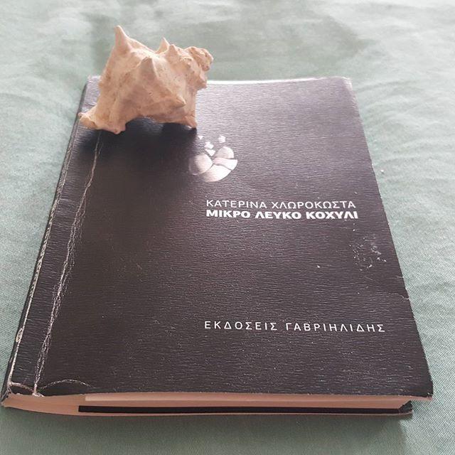 """Ένα τόσο μικρό σε μέγεθος αλλά με τόσο μεγάλο νοημα βιβλίο. """"Μικρό λευκό κοχύλι"""" της Κατερίνας Χλωροκώστα. Αν δεν το διάβασες ακόμα.... χάνεις! Το βιβλίο μέσα από τα δικά μου μάτια!!! Αθανασία"""