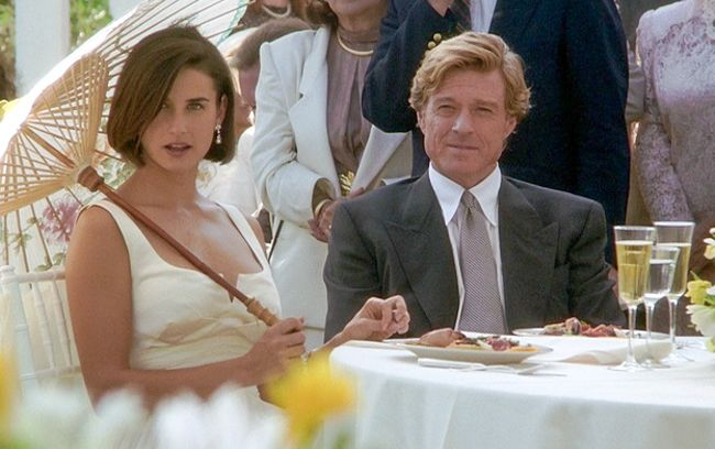 * Robert Redford and Demi Moore * ~ 'Indecent Proposal' (1993)