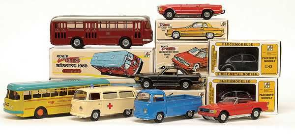 A touch of childhood nostalgia with Kovap tin cars and toys