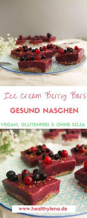 Es ist mal wieder Zeit für ein süßes leichtes Sommer-Dessert: diese schnellen gesunden Ice Cream Beeren Schnitten kommen da wie gerufen. Die Mischung aus der fruchtigen beerigen Füllung und dem süßen Boden ist einfach unschlagbar! Hier geht's zum Rezept: vegan, glutenfrei & ohne Soja!
