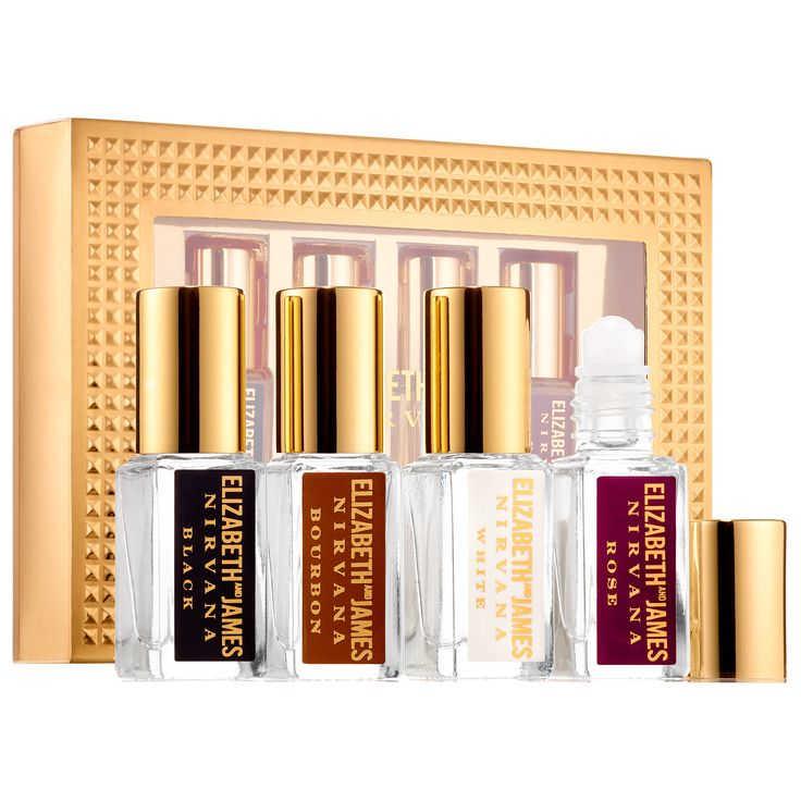 Shop Nirvana Mini Rollerball Set by Elizabeth and James at Sephora. This set contains four purse-size Nirvana fragrances.