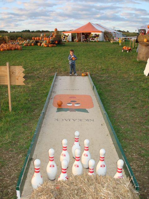 pumpkin bowling - Google Search