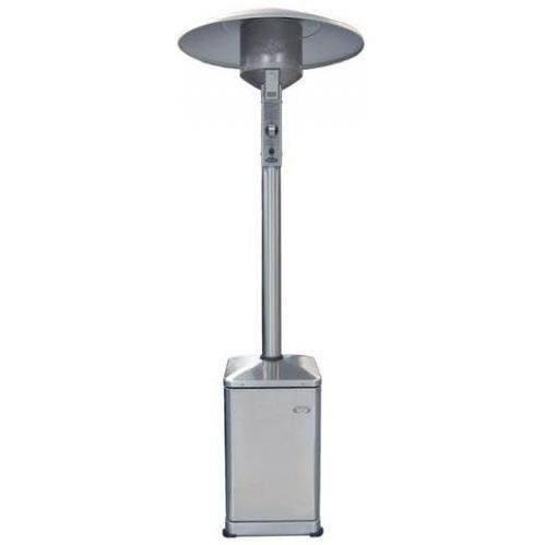 DCS PHFS-P4-L Freestanding Patio Heater, Propane, Brushed Stainless Steel by DCS. $950.29. Access door. 2 Wheels for mobility. Durable, weatherproof stainless steel construction weighted base. Electronic spark ignition adjustable heat control knob safety shut-off. Brushed stainless steel 40,000 BTUs. It's great to have a portable heat source that you can move seasonally or when your outdoor landscaping changes. The DCS Free Standing Patio Heater easily goes where it will be...