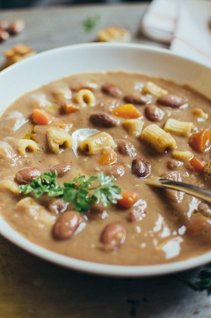 Pasta e Fagioli Soup| Very EATalian