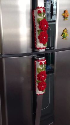 puxador vertical de geladeira 2 peças