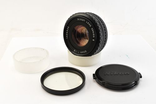 Nikon Series E 50mm f1.8 Ais Fast Standard Prime Pancake Lens with Caps Filter