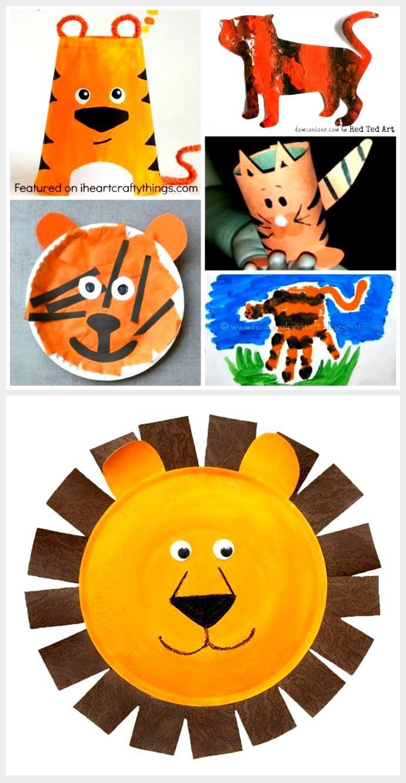 50 Zoo Animal Crafts For Kids Animal Crafts Kids Zoo