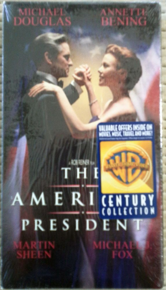 THE AMERICAN PRESIDENT, 1998 VHS, MICHAEL DOUGLAS, ROB REINER, NEW