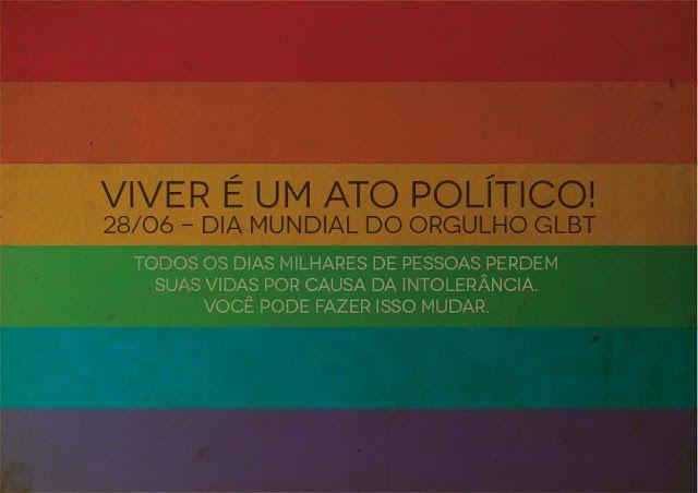 Dia Internacional do Orgulho gay! Dia da igualdade para todos! | Canal do Kleber