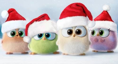 The Hatchlings are here spreading holiday cheer! Happy Holidays! Angry Birds, December 2016