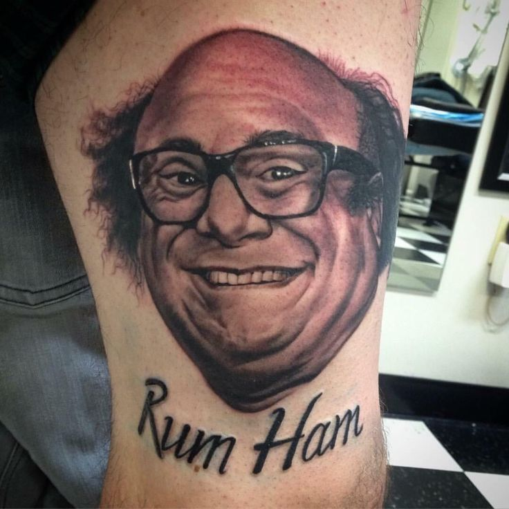 Rum Ham. Done by me Stephan Karlisch at 717 tattoo highspire Pa.