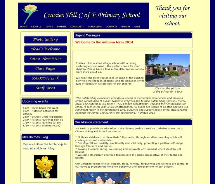Crazies Hill Primary School in Wokingham are using their Life site as both a learning platform and a school web site. The site is easy to navigate and fits well with their school ethos.