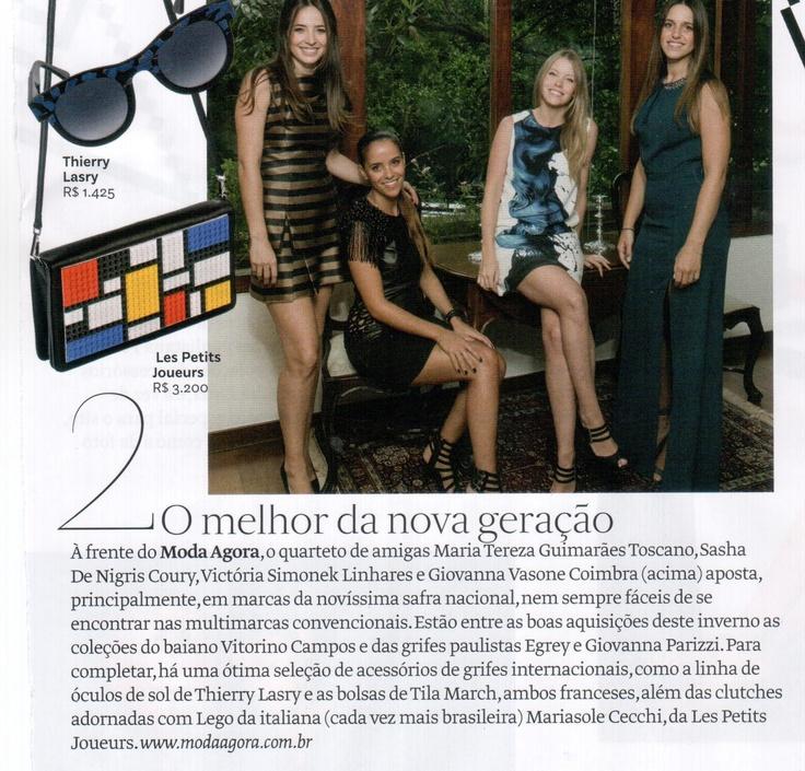 Moda Agora na Vogue de abril! Está incrível! ♥ Agora, no blog.