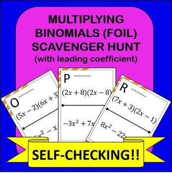 foil math problems This algebra lesson explains how to undo foil on trinomials.