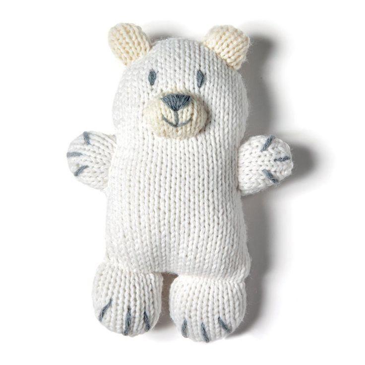 DIY ours polaire pour les enfants qui n'ont pas peur du froid  DIY polar bear for children who aren't afraid of the cold