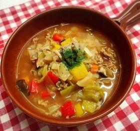 牛肉と野菜たっぷりトマトスープ~ダシダ by oharumin [クックパッド] 簡単おいしいみんなのレシピが263万品