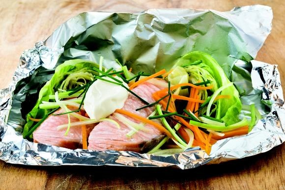 Norwegian Salmon in Aluminum Foil http://www.uticaod.com/community/blogs/food-for-thought/x206919062/Easy-Recipe-Norwegian-Salmon-in-Aluminum-Foil