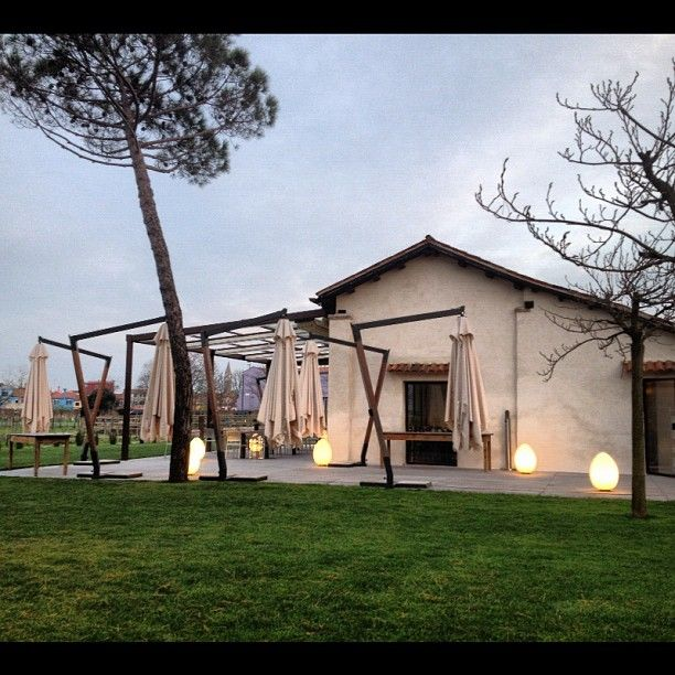 Venissa, ristorante a Mazzorbo dove si produce il vino, salvato dall'oblio, della Laguna di Venezia