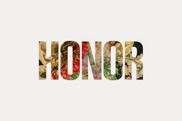 Zapach słów pisanych: Honor i godność w poezji
