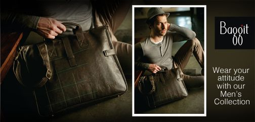 Gentlemen, add style to your outfit with our authentic and classic range at www.baggit.com