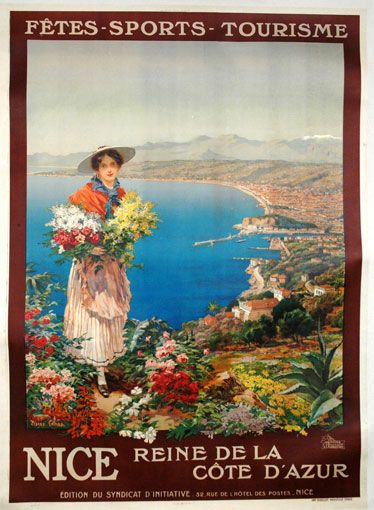 Nice Reine de la Cote D'Azur (Comba, c1910)