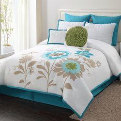 Luxury Home Blossom 8 Piece Comforter Set | Wayfair