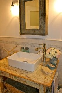Country Bathroom Design -  - bathroom - santa barbara - by Kelley & Company Home