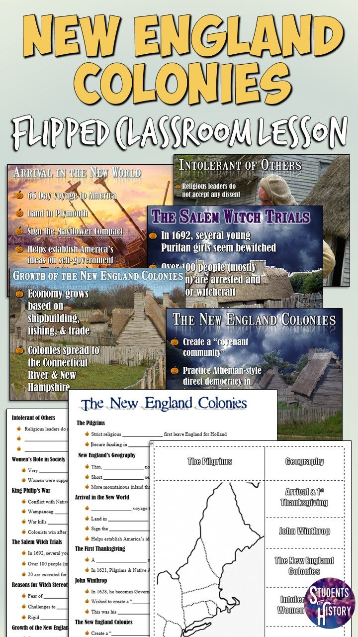 New England Colonies Powerpoint Lesson Teaching American History Learn History Teaching History