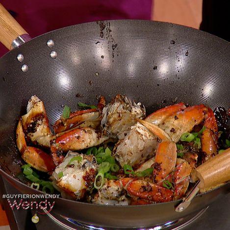 guyfiericrabrecipe  http://www.foodnetwork.com/recipes/guy-fieri/asian-crab-recipe/index.html