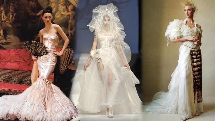 JEAN PAUL GAULTIER WEDDING DRESSES