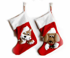 christmas stockings for pets - Google Search