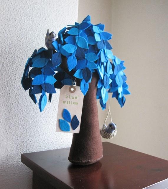 felt tree--so sweet!