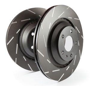 EBC 2007-2012 Nissan Sentra SE-R Spec V/ 2010-2012 Nissan Sentra SE-R USR Slotted Front Rotors (12.6in Dia/ Set of Two)