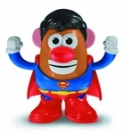 Mr Potato Head Dc Spuds Superman  Mr Potato Head Dc Spuds Superman  is an Urban Collector pre-order. Mr. Potato Head celebrates its 60th-birthday this year with two more tubertastic takes on the heroes of the DC Universe! Joining the Mr. Potato Head DC Spuds line are that strange visitor from another planet, Superman, and the Amazonian ambassador of peace, Wonder Woman! Each Mr. Potato Head DC Spuds figure features removable accessories and parts. Window box packaging. Mr Potato Head Dc…