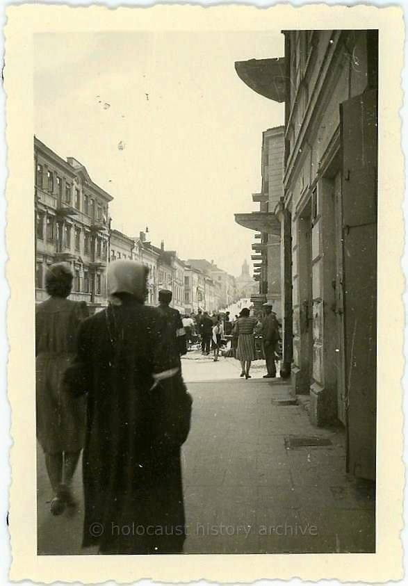 Lublin Lubartowska St.Poland 1940