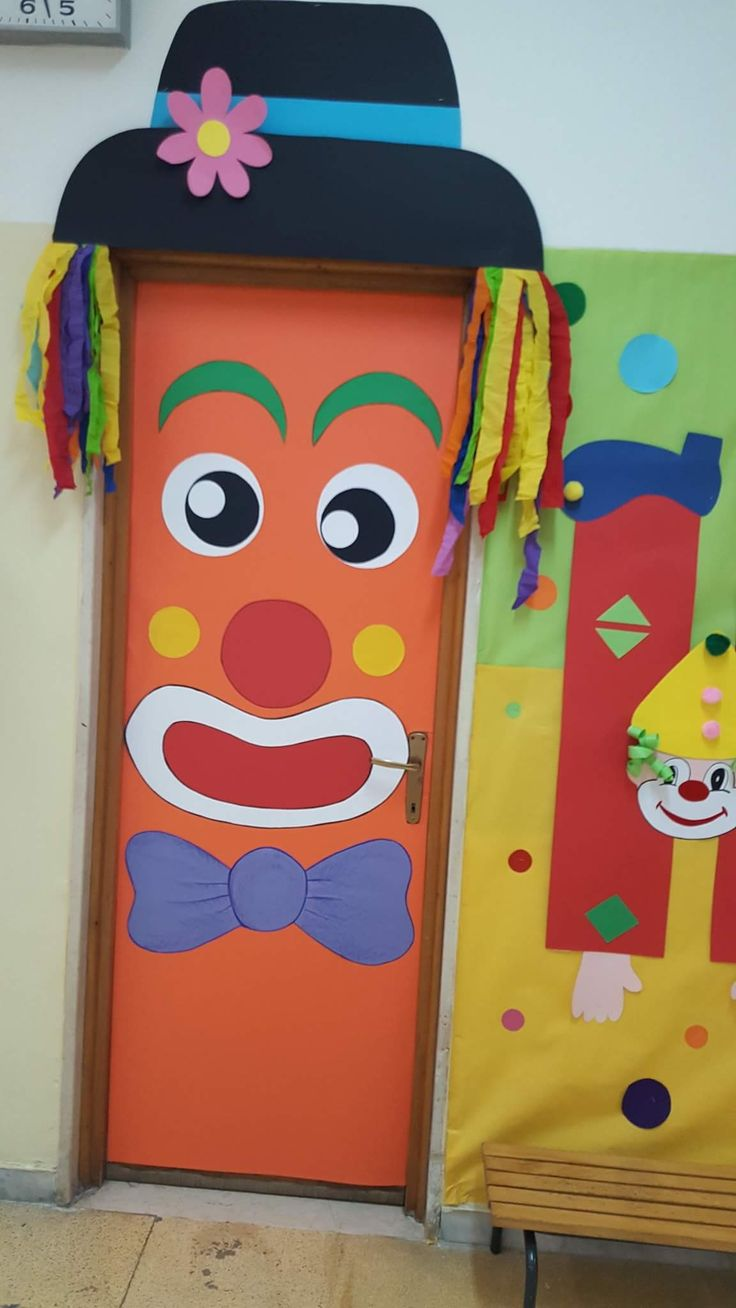 Best 25 carnival crafts kids ideas on pinterest for Porte decorate scuola