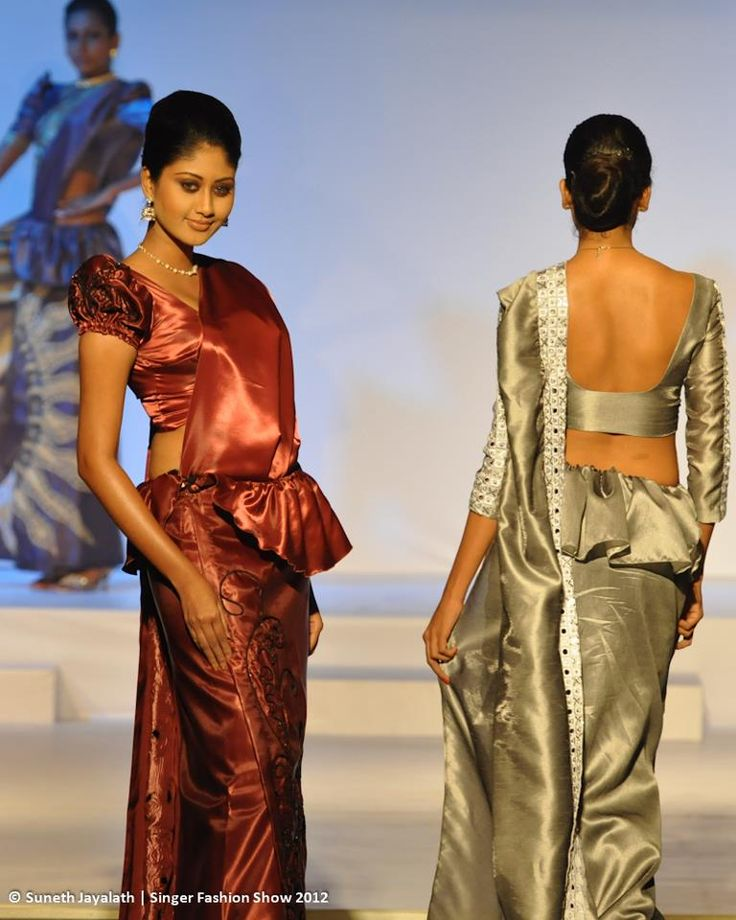 Wedding Hairstyle In Sri Lanka: 107 Best Images About Saree Drapes & Styles On Pinterest