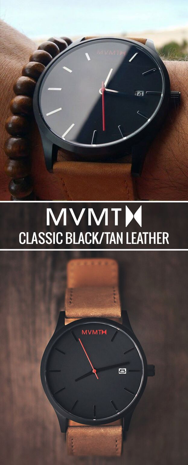 We believe looking like a gentleman shouldn't cost a fortune. At just $95 this Black/Tan Leather is the perfect minimalist men's watch to add to your collection. From a night out on the town to Monday morning in the office, your wrist is covered. With free shipping and free returns worldwide, what the hell are you waiting for? Click the buy button to get it now!